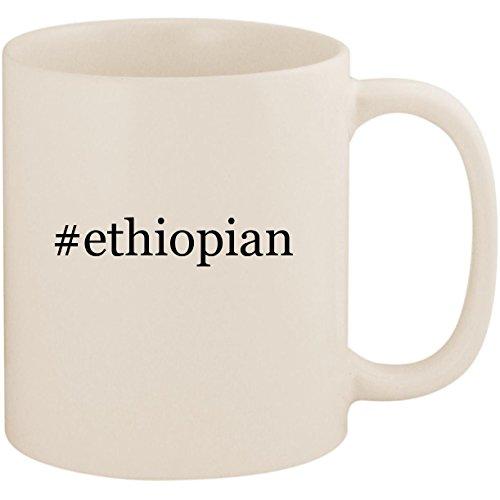 #ethiopian - 11oz Ceramic Coffee Mug Cup, White