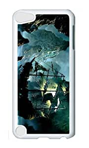 Ipod 5 Case,MOKSHOP Awesome ghost ship Hard Case Protective Shell Cell Phone Cover For Ipod 5 - PC White