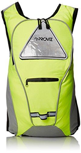 Proviz Cycling/Running Rucksack (10-Liter), Safety Yellow, Small