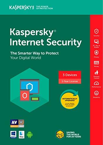 Kaspersky Internet Security 3 Device/1 Year [Key Code] 2018 (3-Users)