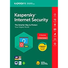Kaspersky Internet Security 2018 3 Dispositivo/1 año [Código de tecla] (3-users)