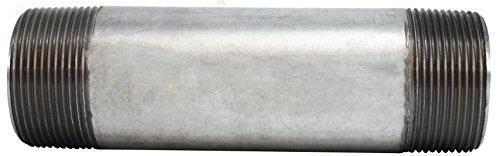 Midland 56-280 Galvanized Steel Nipple SCH 40 Welded 18 Length 1-1//2 Diameter 1-1//2 Diameter 18 Length 1-1//2 OD Midland Metal Pack of 3 Steel 1-1//2 OD