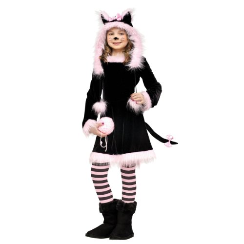 [Pretty Kitty Cat Kids Costume] (Cat Costume Ideas Adults)
