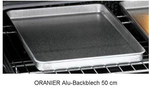 Oranier 5905222000 Alu-Backblech Plätzchenblech Pizzablech Zubehör Standherd