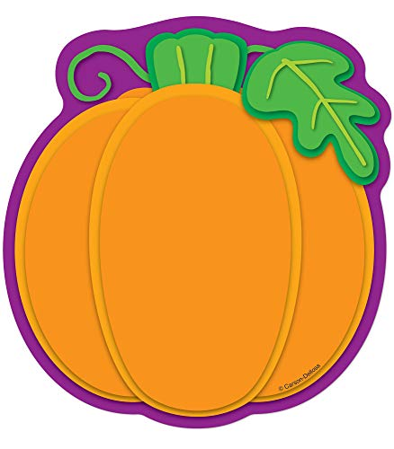 Carson Dellosa - Pumpkin Colorful Cut-Outs, Fall Classroom Décor, 36 Pieces, Single Design