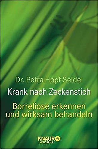Petra Seidel krank nach Zeckenstich