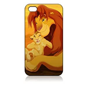 THE Lion King Hard Case Cover Skin for Iphone 4 4s Iphone4 At&t Sprint Verizon Retail Packing