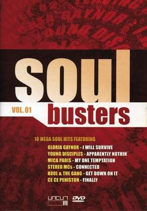 Soul Busters Vol. 1 (Mica Paris - My One Temptation, Commodores - Nightshift Etc.) Original Music Videos
