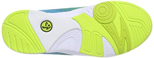 Zumba Pulse Impact Turquoise Neon Dance Yellow Women's Shoe vqwEq