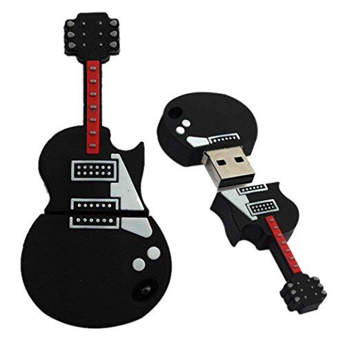 Bolayu 1GB Thumb Guitar USB 2.0 Metal Flash Memory Stick Storage U Disk