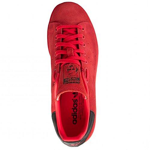 アディダスオリジナルス adidas originals stan smith red スタンスミス スエード スニーカー 赤