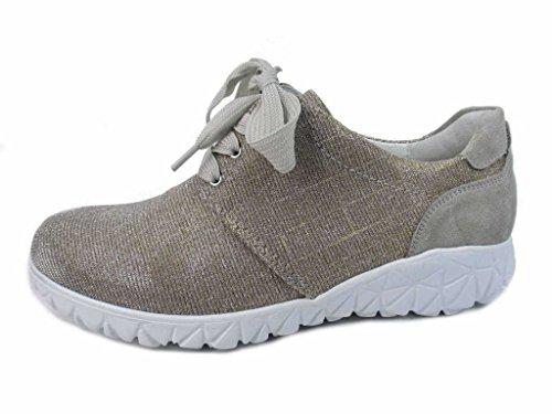 Chaussures 389006 Waldläufer 207 Femme Or De Lacets À Ville 094 Pour HtpTxdqwp