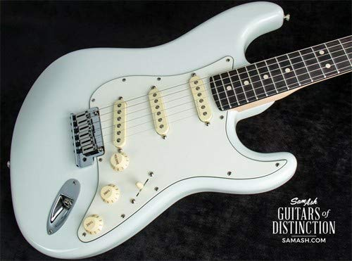 - Fender Custom Shop Jeff Beck Signature Stratocaster Electric Guitar Olympic White (SN:XN11168)