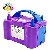 Best Balloon Pumps - IDAODAN Electric Air Balloon Pump, Portable Dual Nozzle Review