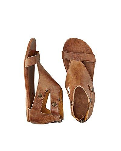 Ferbia Women's Summer Ankle Strap Flat Slipper Sandals Shoes