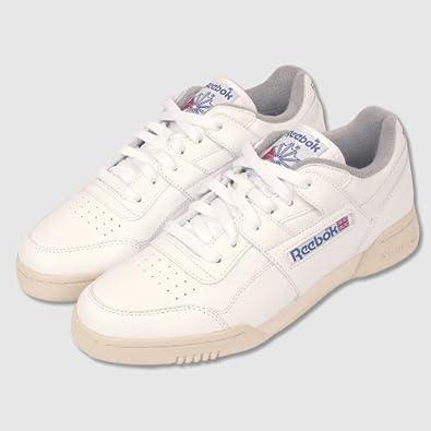 Reebok Workout Plus R12 Trainers (UK8  US9)  Amazon.co.uk  Shoes   Bags 3080661b6