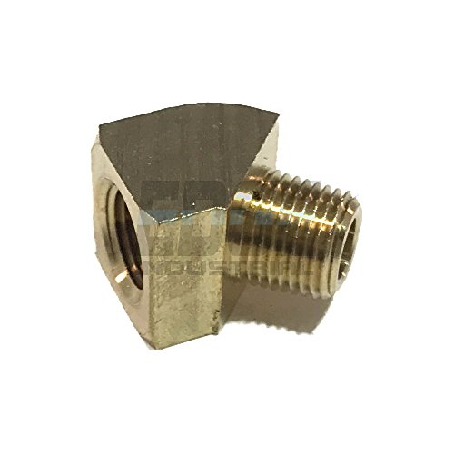 EDGE INDUSTRIAL Brass 45º Street Elbow 1/8