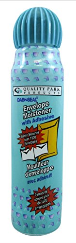 Quality Park Dab-n-Seal Envelope Moistener, 50 ml, 1 Bottle (46065)