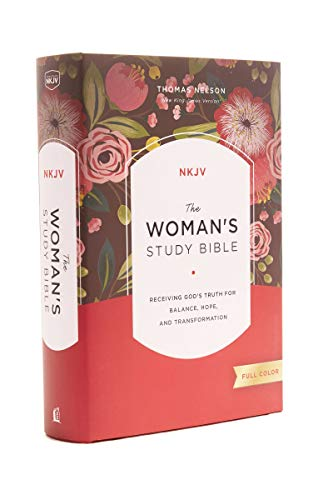 The NKJV, Woman's Study Bible, Hardcover, Red Letter, Full-Color Edition: Receiving God's Truth for Balance, Hope, and Transformation Hardcover – March 28, 2017