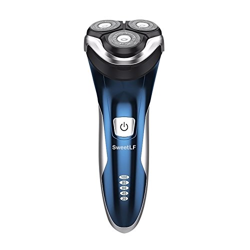 SweetLF 3D Rechargeable 100% Waterproof IPX7 Electric Shaver Only $21