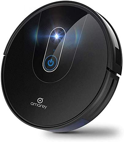 Robot Vacuum- Smart Navigating Robot Vacuum Cleaner, Wi-Fi Connected, Works with Alexa, Visual Mapping, APP Controls, 1400Pa Strong Suction, Self-Charging, Best for Pet Hair, Hard Floors to Carpet