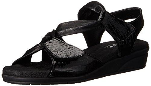 Valerie Platform Shoes - Walking Cradles Women's Valerie, Black, 9 M US
