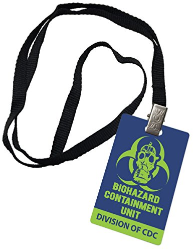 [Biohazard Containment Unit CDC Novelty ID Badge Prop Costume] (Biohazard Costumes)
