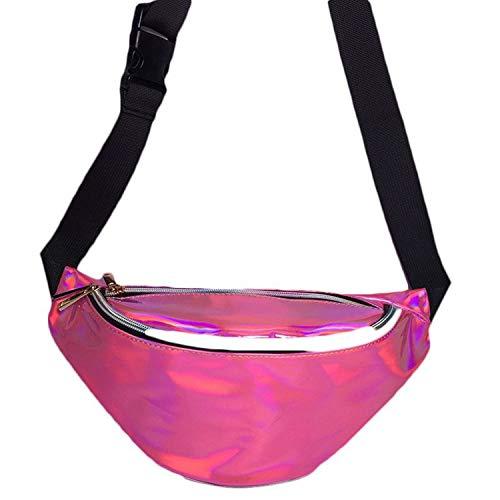 Running Belt - Bum Bag - Litthing Fanny Pack Laser Waist Packs Hip Bag Women's Waistband Bags Waist Bag Unisex
