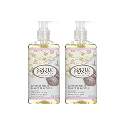 South Of France Hand Wash Lavender Fields 8 Oz