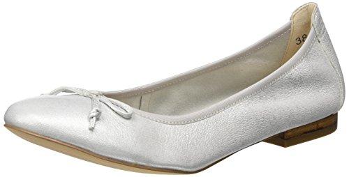 Silver 22102 Caprice Metal Argento Donna Ballerine gvgxqHI