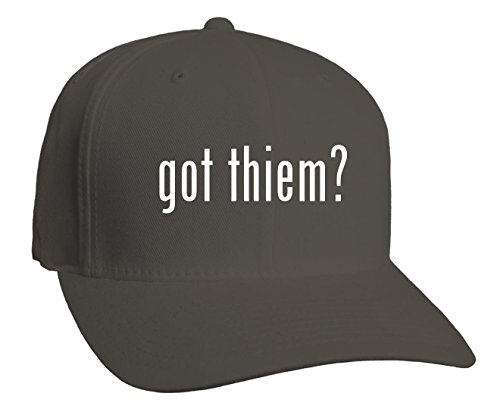 got thiem? Adult Baseball Hat, Dark Grey, Small/Medium