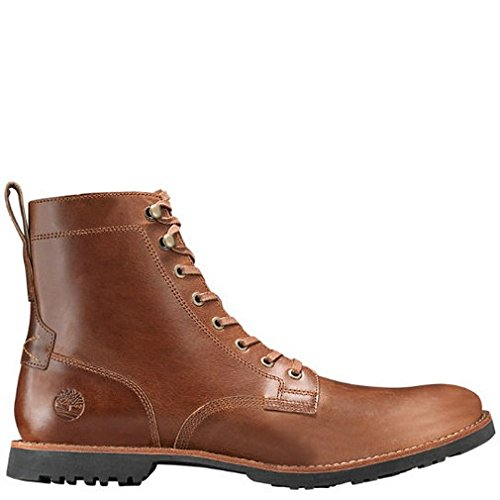Timberland Kendrick Side Zip Boot - Men's Medium Brown Full Grain, 9.0 by Timberland