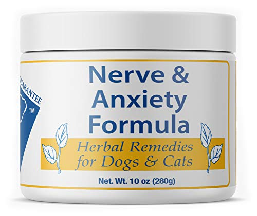 (Doc Ackerman - Nerve and Anxiety Formula - 10 oz | Professionally Formulated Herbal Remedy for Dogs & Cats | Enhanced with Chamomile, Peppermint & Passion Flower)