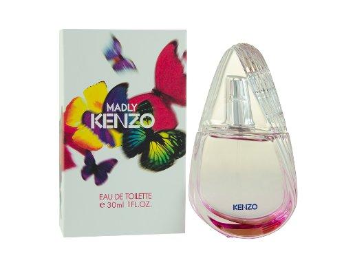 Kenzo Womens Eau De Toilette (Kenzo Madly Eau De Toilette Spray for Women, 1 Ounce)