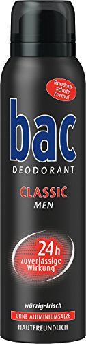 bac Deospray Classic Men, 6er Pack (6 x 150 ml)