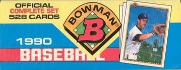 Bowman 1990 Baseball Official Complete Set (Baseball Bowman 1990)