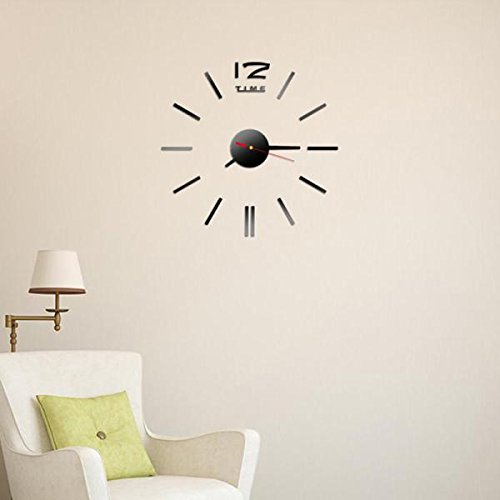 Webla DIY - Mini Reloj de Pared Digital en inglés, Color ...
