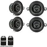 Kicker Speaker Bundle - Two pairs of 3.5 Inch KS-Series Speakers 44KSC3504