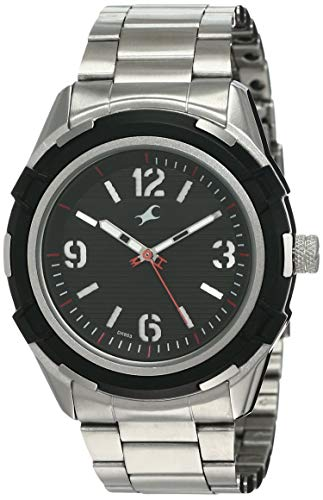 Fastrack Fastfit Analog Black Dial Men #39;s Watch 3225KM02