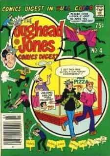 Jughead Jones Digest Magazine, The #4 FN ; Archie comic book (Jughead Jones)