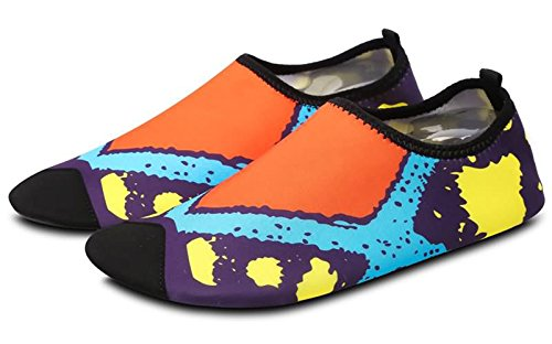 Dry Purple Boy's Women's Swimming WUIWUIYU Kids's Aqua Yoga Men's Shoes Water Girl's Family Summer Quick RZnUqw8n