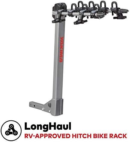 yakima – LongHaul Premium Hitch Bike Rack for RV and Travel-Trailer, 4 Bike Capacity