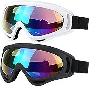 Ski Snowboard Goggles Winter Snow Sports Snowmobile Goggles for Men Women Youth Kids