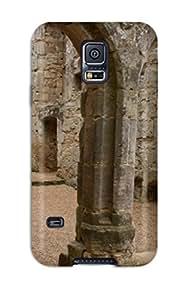 Protective Tpu Case With Fashion Design For Galaxy S5 (bodiam Castle)