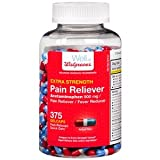 Walgreens Pain Reliever Extra Strength Gelcaps, 375 ea offers