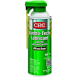 CRC Syntha-Tech Lubricant with PTFE, 11 oz Aerosol Can, Whitish