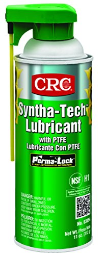 CRC Syntha-Tech Lubricant with PTFE, 11 oz Aerosol Can, (Best Crc Organic Lubricants)