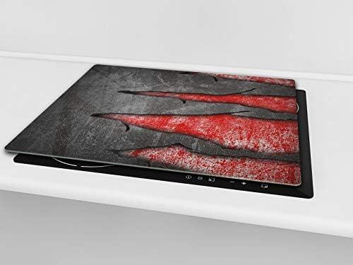 Amazon.com: Tablero de cocina de cristal templado ...