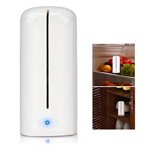 🥇 Powcan Ozono Refrigerador Purificador Refrigerador Esterilizador Desodorante Mini Absorbente de Olor Eliminador de Olor Purificador de Aire para Congelador