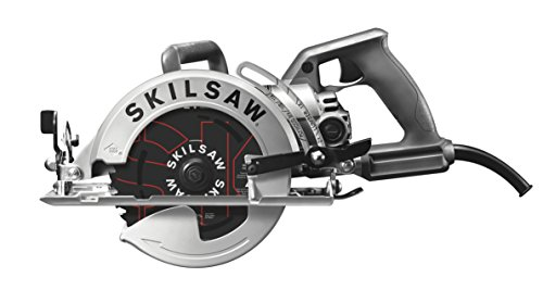 SKILSAW SPT77W-01 15-Amp 7-1/4-Inch Aluminum Worm Drive Circular Saw (Best Small Hand Held Circular Saw)